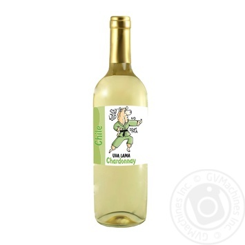 Wine chardonnay Uva lama white dry 13% 2009year 750ml glass bottle Germany - buy, prices for Furshet - image 1