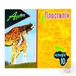 Пластилін Economix Afrika 10 кольорів 200г - купити, ціни на Novus - фото 1