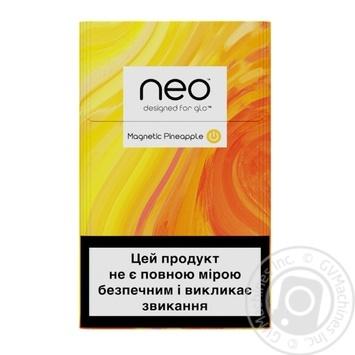 Стики табачные GLO Neo Demi Magnetic Pineapple - купить, цены на Таврия В - фото 1