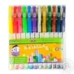 ZiBi Metallic & Neon ZB.2205-99 Gel Pen Set 12pcs