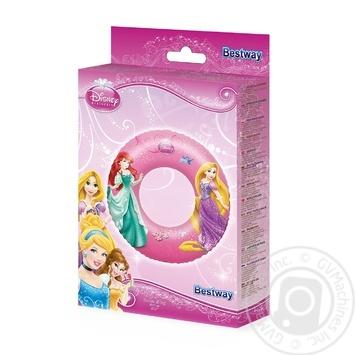 Круг надувний BestWay Принцеси 56см - купить, цены на Novus - фото 1