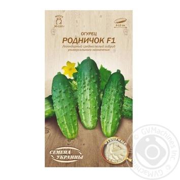 Seed cucumber Semena ukrainy 0.5g - buy, prices for Novus - image 1