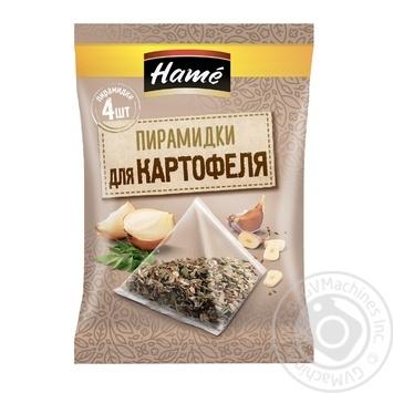 Смесь пряностей Картофель Hame в пакетиках-пирамидках 4х5г 20г - купить, цены на Novus - фото 1
