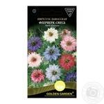 Семена Golden Garden Нигелла дамасская Феерверк смесь 1г