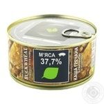 Zdorovo Buckwheat Porridge With Pork Meat Conserve 325g - buy, prices for Novus - image 1