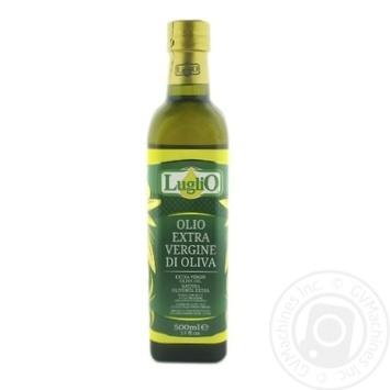 Олія оливкова Luglio першого віджиму нерафінована 500мл