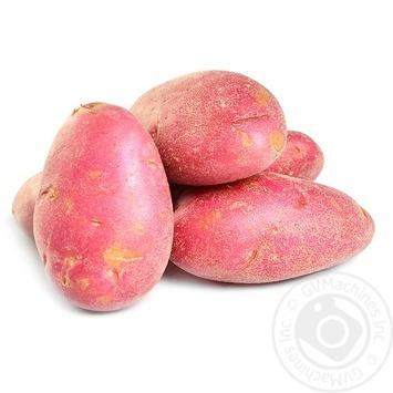 Картофель розовый - купить, цены на Novus - фото 1