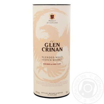 Виски Glen Crinan The Legendary 40% 0,7л
