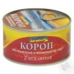 Morskoy Proliv Exclusive Fried In Tomato Sauce Carp 240g