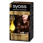 Фарба для волосся без аміаку SYOSS Oleo Intense 4-18 Шоколадний каштановий 115мл