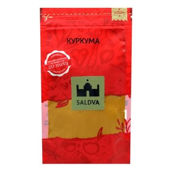 Spices turmeric Saldva Private import 25g - buy, prices for Novus - image 1