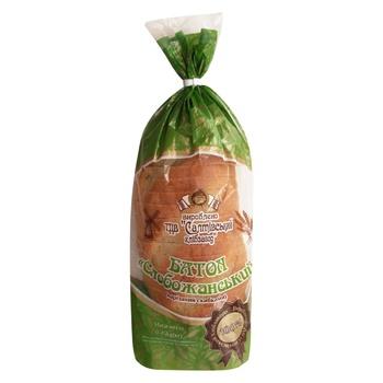 Батон Салтовский хлебозавод Слобожанский 450г - купить, цены на Таврия В - фото 1