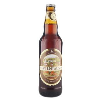 Пиво Vilniaus Alus Dark темное 5,6% 0,5л - купить, цены на Novus - фото 1