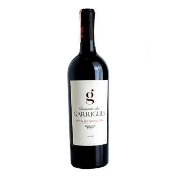 Вино Domaine Des Garrigues Cotes du Roussillon красное сухое 12,5% 0,75л