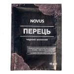 Перец Novus черный молотый 15г