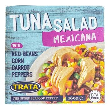 Салат Trata мексиканский с тунцом 160г - купить, цены на Novus - фото 1