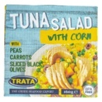 Trata With Corn And Tuna Salad 160g - buy, prices for Novus - image 1