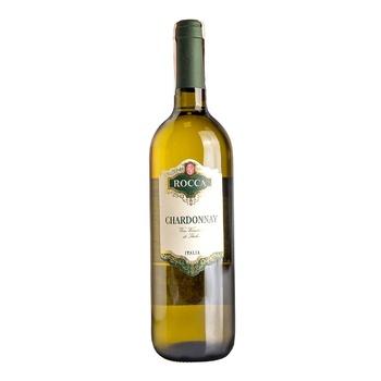 Вино Rocca Chardonnay Varietale D'Italia белое полусухое 12% 0,75л