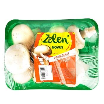 Шампиньоны Novus Zelen' свежие 300г - купить, цены на Novus - фото 1