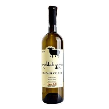 Вино Koncho & Co Verdzi Alazani Valley белое полусладкое 11,5% 0,75л