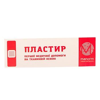 Пластырь Manorm на тканевой основе 1,9х7,2см 10шт - купить, цены на Фуршет - фото 3