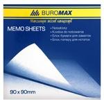 Блок бумаги Buromax для заметок не клееный 9х9см 500 листов