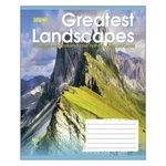 1 Veresnya Greatest Landscapes А5 36 Pages Lined Notebook