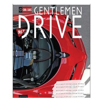 Тетрадь школьная Yes Gentlemen Drive А5 18 страниц клеточка