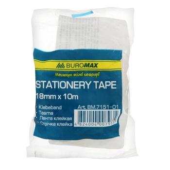 Buromax Transparent Scotch Tape 18mm x 10m - buy, prices for CityMarket - photo 2