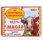 Масло Новгород-Северский сладкосливочное экста 82,5% 200г