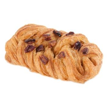 Плетенка с кленовым сиропом и орехом пекан 85г - купить, цены на Novus - фото 1