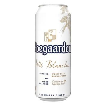 Hoegaarden White Beer 4,9% 0,5l - buy, prices for Novus - image 1