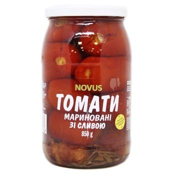 Novus Pickled Pasteurized Tomatoes 850g - buy, prices for Novus - image 1