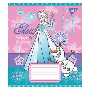 Зошит Yes Frozen в косу лінію А5 12 аркушів - купити, ціни на Ашан - фото 2