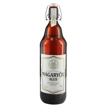 Пиво Magaryciu Alus полутемное нефильрованное 5,8% 1л