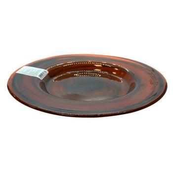 Тарілка Atlas темно-коричнева 27.5х2см