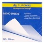 Блок бумаги Buromax белый для заметок 9х9см 500 листов