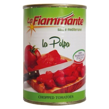 La Fiammante In Own Juice Chopped Tomatoes 400g
