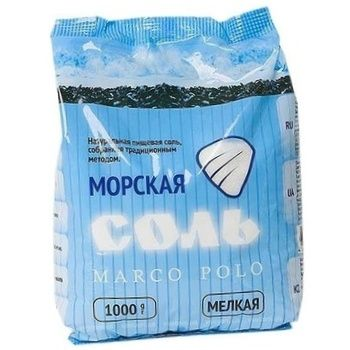 Salt Marco polo 1000g - buy, prices for MegaMarket - image 1