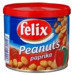 Арахіс Фелікс зі смаком паприки 120г залізна банка Польща - купити, ціни на МегаМаркет - фото 1