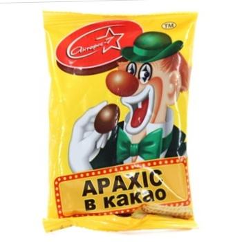 Драже Arlekin арахис в какао 60г - купить, цены на Novus - фото 1