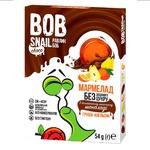 Мармелад Bob Snail груша-апельсин в молочному шоколаді без цукру 54г - купити, ціни на МегаМаркет - фото 1