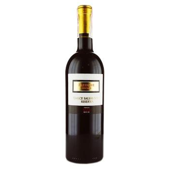 Вино Carlos Sani Passione Speciale Salice Salentino Riserva DOC красное сухое 13,5% 0,75л