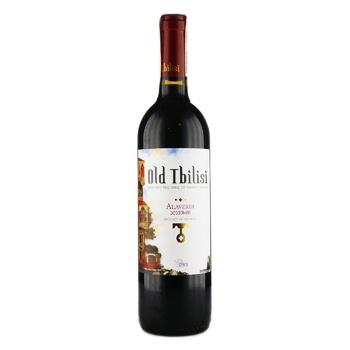 GWS Old Tbilisi Alaverdi  red semi-dry wine 13.5% 0.75l
