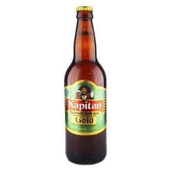 Kapitan Gold Light Beer 5,6% 0,5l