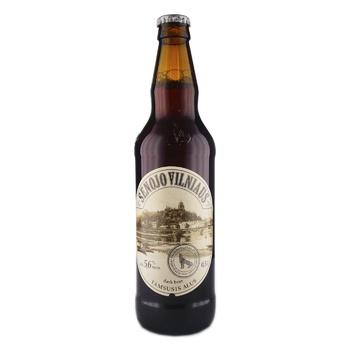 Пиво Senojo Vilniaus Dark темное 5,6% 0,5л