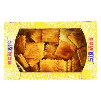 Печенье Бом-Бик Козацкое cоленое слоеное 250г