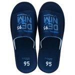 Twins Men's Felt Slippers With Drawing 40-41s
