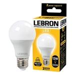 Лампа Lebron світлодіодна L-A60 12W Е27 3000K