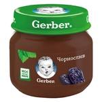 Fruit puree Gerber prunes for 4+ months babies 80g